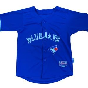 "Youth Blue Jays ""Bautista"" Jersey Size Medium"